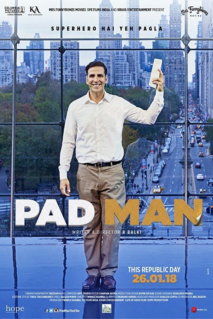 poster padman movie