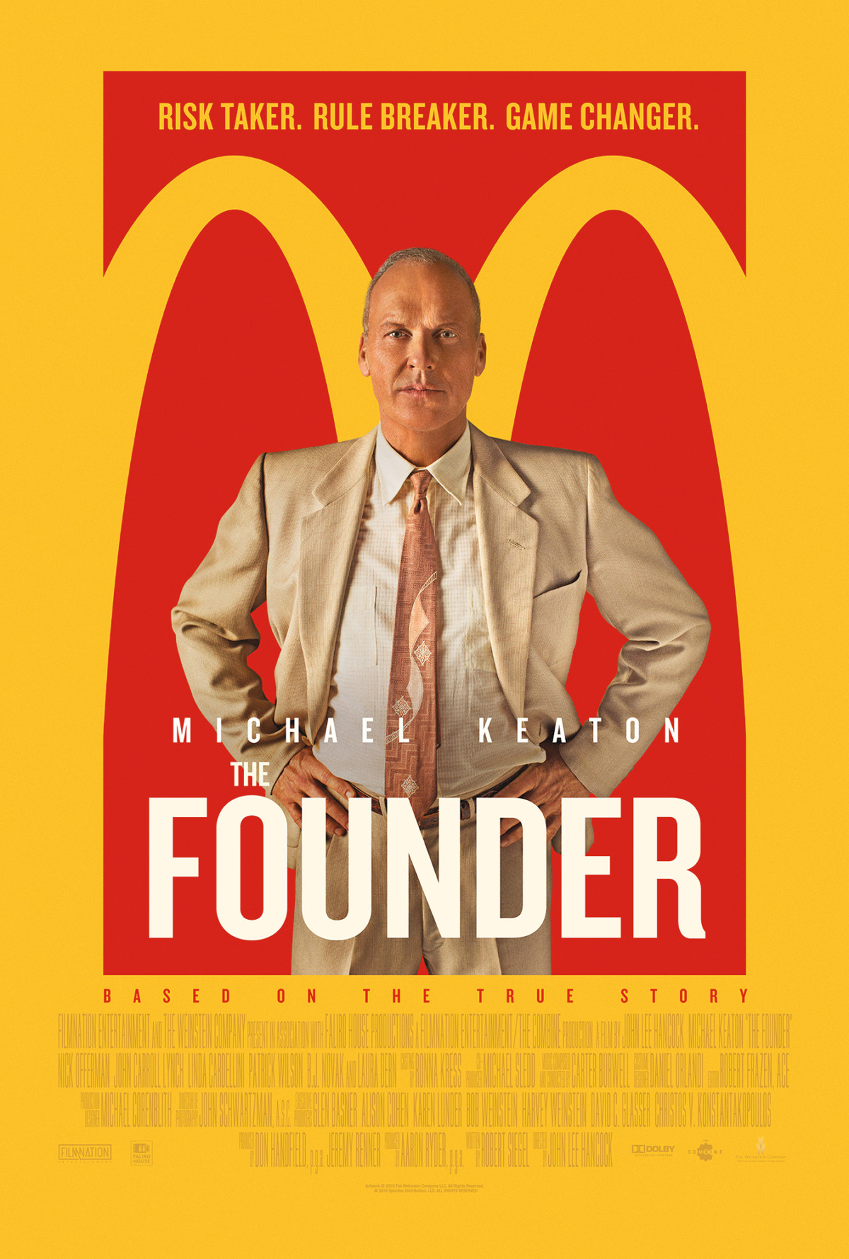 poster the founder movie